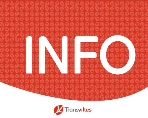 Lire l'article sur Transvilles : Perturbations possibles sur certaines lignes